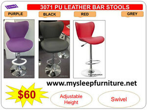 BRAND NEW- BAR STOOLS- acrylic, plastic, leather, Many colors City of Toronto Toronto (GTA) image 8