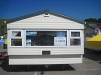 For sale used static caravan holiday home Challaborough Bay, South Devon