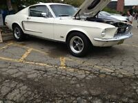 1967 1968 Mustang and Shelby parts