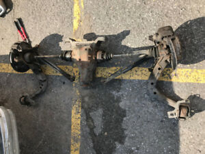 BMW E36 Complete Rear End w/ Welded Diff