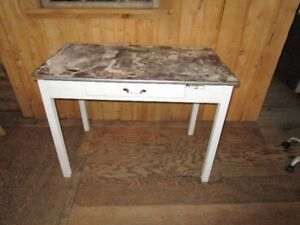 Vintage Bakers Table