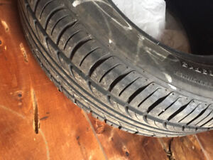 4 size205/65/R15 tires. All season, sold the car and don't need