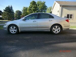 2005 Acura RL SH-AWD - well maintained, excellent winter car
