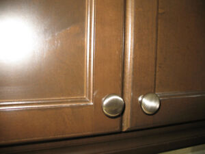 Cabinet and Drawer Handles (Brushed Nickel)