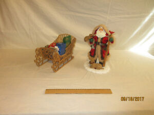 Santa and Sleigh set