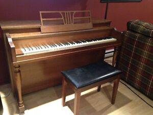 Piano + banc