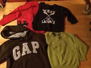 18-2 yr sweaters perfect condition.