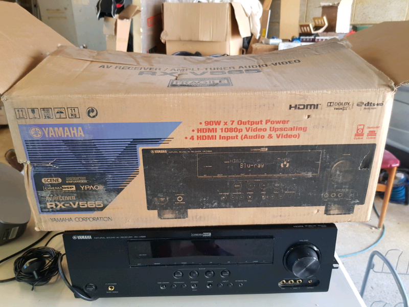 Yamaha RX-V565 AV Receiver / Amplifier | in Reading, Berkshire | Gumtree