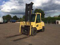 Hyster 5 Ton SWB Forklift Truck High Mast