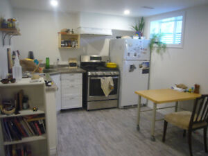 Bachelor Apartment for sublet July and August, Lakefield ON