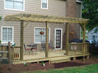 DECKS & SHADE STRUCTURES