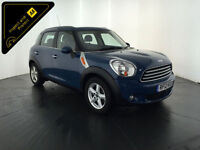 2012 MINI COUNTRYMAN COOPER D DIESEL 1 OWNER SERVICE HISTORY FINANCE PX WELCOME
