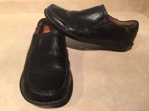 Men's Clarks Structured Slip-On Leather Shoes Size 12 London Ontario image 5