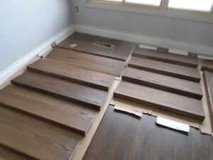 Stair caping and railing