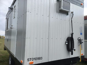 8 x 16 Wheeled Office Trailer for rent