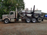 Contract log truck