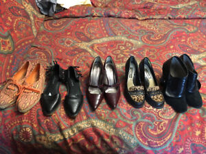 Lot of size 6 shoes