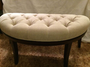 Ferndale Demilune Bench - NEW - Bowring Sells New at $225 & HST