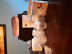 Avent double electric breast pump
