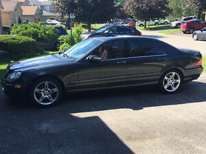 2003 Mercedes-Benz S-Class 5.0L Sedan - AMG Package Cues