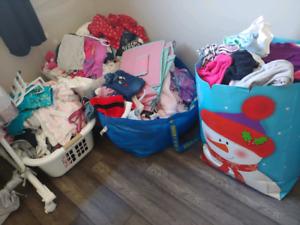 HUGE baby girl clothing lot!