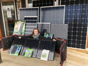 Solar Panel Kits - for the camp cabin RV and Boat