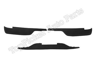 BUNDLE 99-07 SILVERADO 1500 2500 LIGHT DUTY FLEETSIDE REAR BUMPER PADS 3PCS
