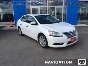 2013 Nissan Sentra SL  - Sunroof -  Navigation -  Leather Seats