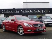 2013 62 MERCEDES-BENZ E CLASS 2.1 E220 CDI BLUEEFFICIENCY SPORT 2D AUTO 170 BHP