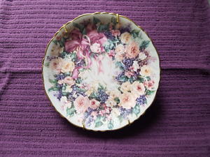 hand crafted porcelain plate