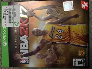 NBA 2K17 Legend Edition and NBA 2k16!! Peterborough Peterborough Area image 1