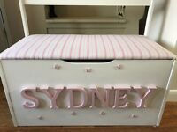 Personalised Toy Box (Large)