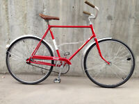 Vintage Raleigh Transit single speed commuter NEW OLD STOCK!
