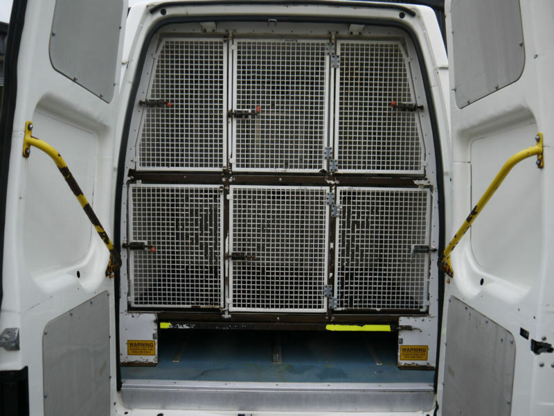 Vans With Dog Cages For Sale