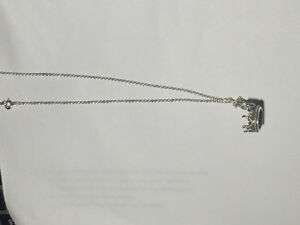 Tiffany Sterling Silver Necklace with Crown Charm Peterborough Peterborough Area image 3
