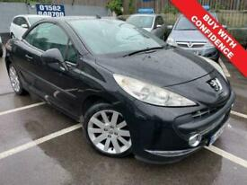image for 2007 Peugeot 207 1.6 GT COUPE CABRIOLET 2d 118 BHP Convertible Petrol Automatic