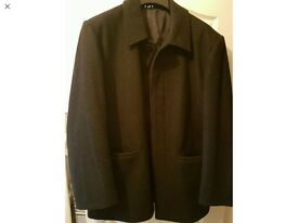 Gents lined coat size large