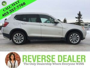2012 BMW X3   Pure Luxury! Navigation, Back-up Camera, Sunroof