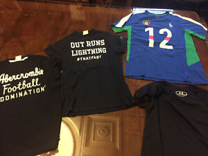 Youth/Kids Boy's Abercrombie,Ralph Lauren and Underarmour Shirts