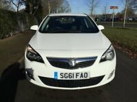 Vauxhall Astra SRi 1.4i 16v VVT (100PS) Good / Bad Credit Car Finance (white) 2011