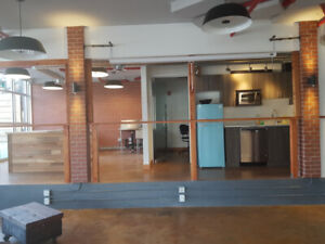 Coffee shop space for lease