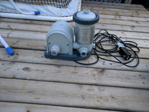 Intex pool pump with built in timer
