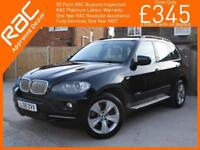 2008 BMW X5 3.0sd SE 3.0 Turbo Diesel 282 BHP 6 Speed Auto 4x4 4WD Sat Nav Rear