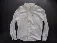 Chemise Hollister Homme white Shirt Hollister NEW Medium M