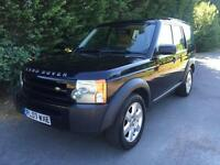 2007 LAND ROVER DISCOVERY 3 2.7 TDV6 TURBO DIESEL 6 SPEED MANUAL 4X4 7 SEATER