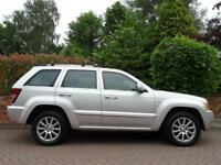 2008 Jeep Grand Cherokee 3.0CRD V6 auto Overland..TOP MODEL..VERY HIGH SPEC !!