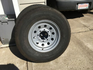 Trailer Rims and Tiers - ST 235/ 80 R16