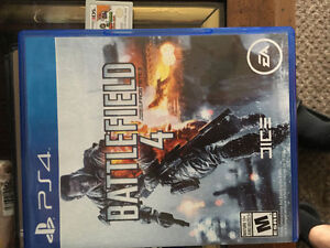 Selling battlefield 4 for ps4