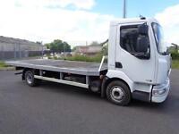 2007 (57reg) Renault Midlum 190 DCI 7.5 Ton, 19 ft Flatbed Lorry, Scaffold Wagon