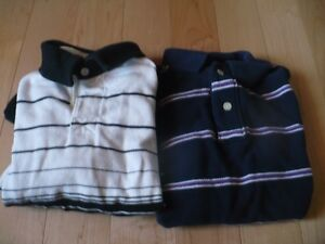 Lot of 2 Size 7-8 Rugby Style Shirts